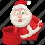 christmas, santa, santa claus, xmas icon
