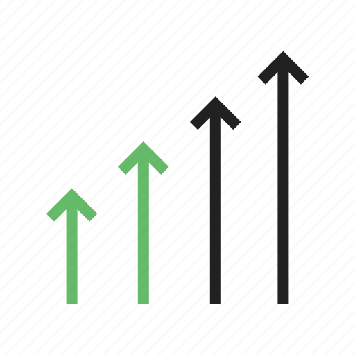 Arrow, business, chart, economic, graph, growth, success icon - Download on Iconfinder