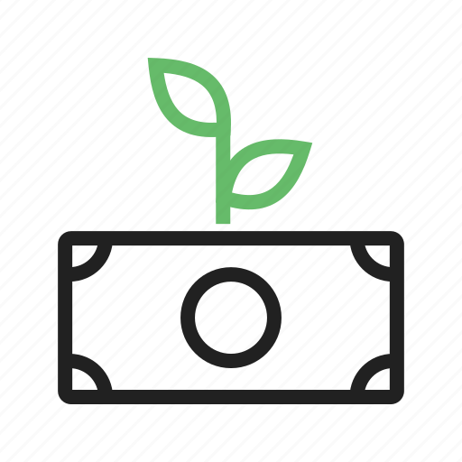 Growth, increase, investment, money, profit, revenue, startup icon - Download on Iconfinder