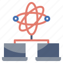 antenna, communication, electronics, network, satellite, space, station icon