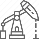 arabia, crude, equipment, industrial, oil, pump, saudi icon