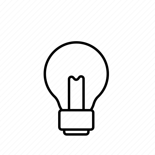 bulb, dark, idea, light, lightbulb, off icon