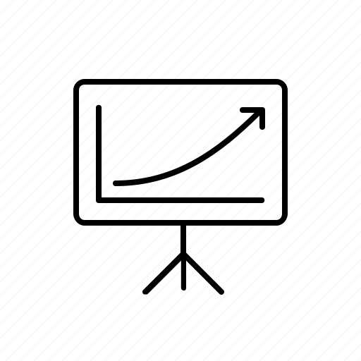 deck, keynote, pitch, powerpoint, ppt, present, presentation icon