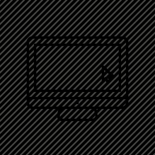 computer, desktop, pc, web, website icon