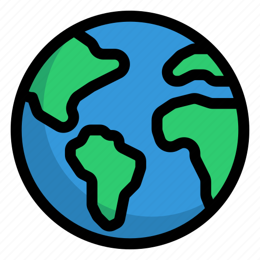 Earth, planet earth, planet, world, globe, global, international icon - Download on Iconfinder