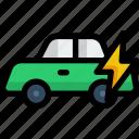 electric car, ecology, environment, eco car, hybrid car, car