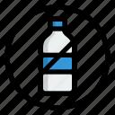 no plastic bottle, no plastic, ecology, environment, plastic bottle, plastic, forbidden