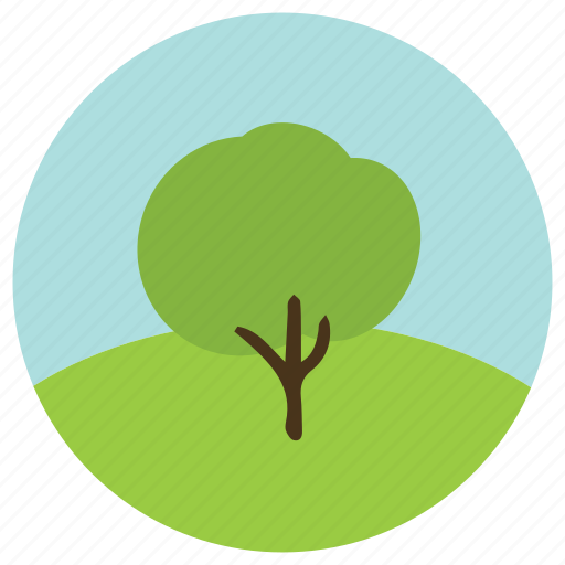 environment, forest, hill, sky, tree, trees icon