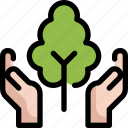 ecology, environment, forest, globe, save, tree, world icon