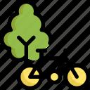 bicycle, ecology, environment, globe, park, save, world