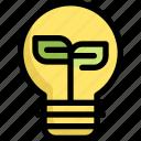 bulb, ecology, environment, natural, save, world