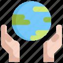 ecology, environment, global, globe, save, world icon