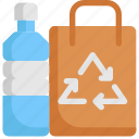 bag, bottle, ecology, environment, recycle, save, world