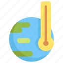 ecology, environment, global, save, temperature, warming, world icon