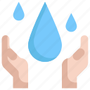 ecology, energy, environment, save, water, world icon