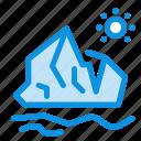 ecology, environment, ice, iceberg, melting