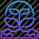 eco, ecology, plant icon