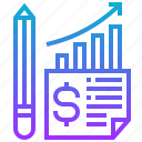 business, chart, graph, profit, report icon