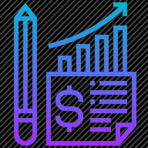 business, chart, graph, profit, report icon