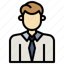 advisory, business, discuss, man, money, support, user icon