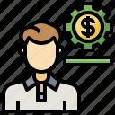 account, fund, jobs, organization, professions, profile, user icon