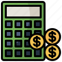 calculating, calculation, education, maths, technological, technology icon