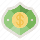 business, defense, finance, insurance, money, protected, security icon