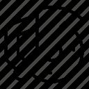 business, circular, factory, hand, logo, saw, tree icon