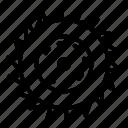 blade, circular, construction, equipment, metal, saw, silhouette