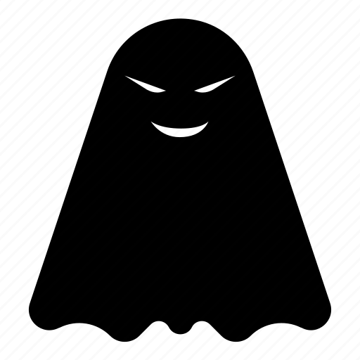 ghost, ghosts, halloween, horror, scare, scary, smily ghost icon