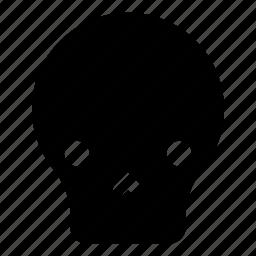 dead, death, emoji, halloween, mask, skull icon