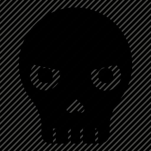 angry skull, dead, death, emoji, halloween, mask, skull icon