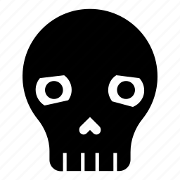 dead, death, emoji, halloween, mask, sad skull, skull icon