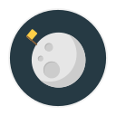 full, moon icon