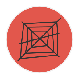 spider, web icon
