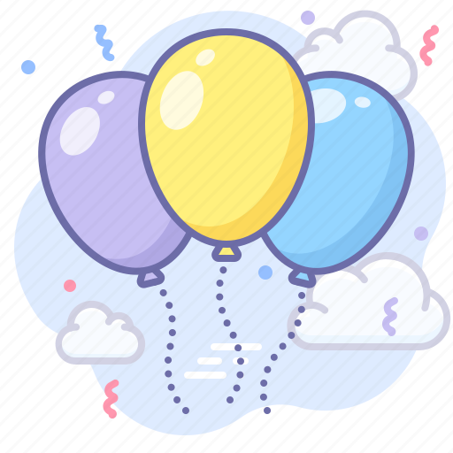 Balloon, congratulations, party icon - Download on Iconfinder
