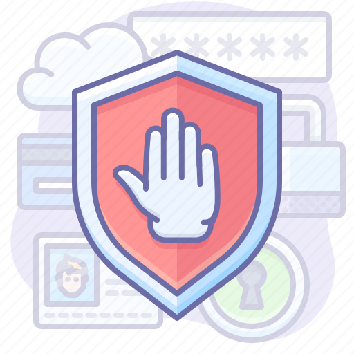 Privacy, protection, shield icon - Download on Iconfinder