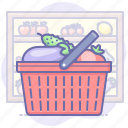 basket, market, shopping icon
