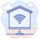 house, home, smart, internet