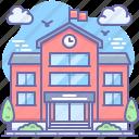 building, education, school