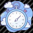 speed, stopwatch icon