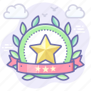 rating, top, star, achievement