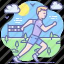 runner, sport, run, activity icon