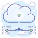 sync, network, backup, cloud icon