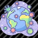 virus, world, global, epidemic, corona