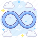 unlimited, infinity, loop icon