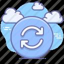 synchronization, sync, backup, refresh icon