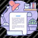 text, document, log, script icon