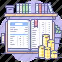 bookkeeping, book, money, finance