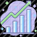 chart, growth, rise, analytics, sales